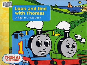 Look and find with Thomas-A flap-in-a-flap book